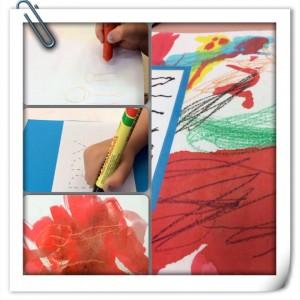 crayon placemats